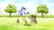 S4E36.051 Mordecai and Rigby Laughing