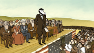 S6E21.159 Party Horse Lincoln Giving the Gettysburg Address