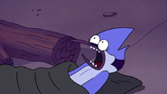 S4E17.026 Mordecai Screaming Because of Gregg