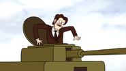 S6E18.237 Rich Steve Feeling the Tank Move
