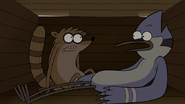 S6E13.218 Mordecai and Rigby Asking if They Had the Same Dream
