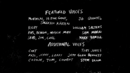 S3E31 Out of Commission Credits