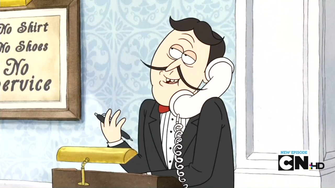 Maitre d 39 regular show wiki fandom powered by wikia for What is a maitre d