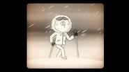 S8E20.188 Young Maellard Walking Through the Snow