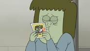 S8E03.060 Muscle Man Kissing His Photo
