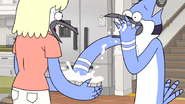 S6E01.104 Mordecai Eating the Cream Pie