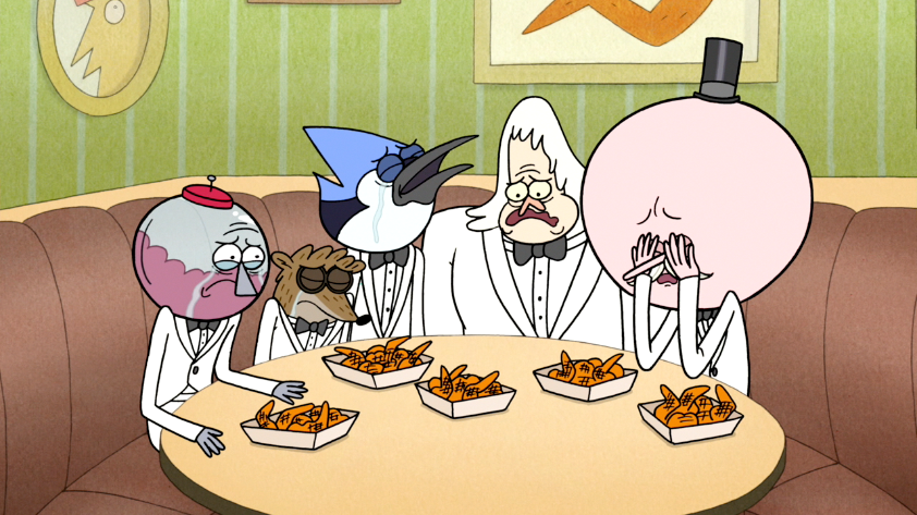 Image S6e05 111 Everyone Still Crying Png Regular Show