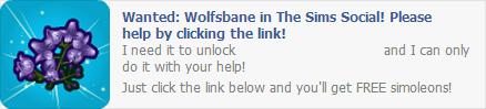 Wolfsbane Wall Post