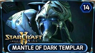Starcraft 2 ► Legacy of the Void Cinematic HD - Alone, Artanis becomes Dark Templar (LOTV)