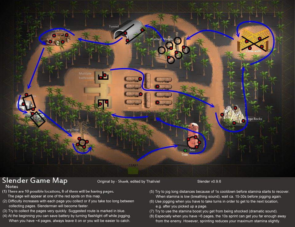 Games like SlenderMan Mystery Forest