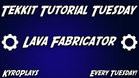 Lava Fabricator Tutorial Tekkit
