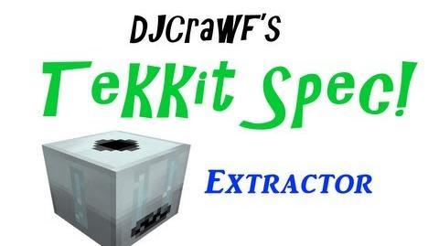 TekkitSpec - Extractor