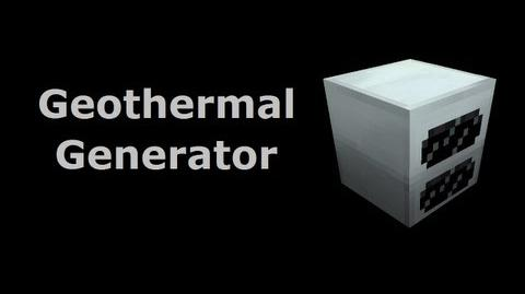 Geothermal Generator - Minecraft In Minutes