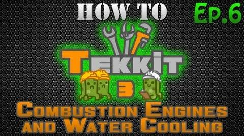 How to Tekkit - Combustion Engines and Water Cooling
