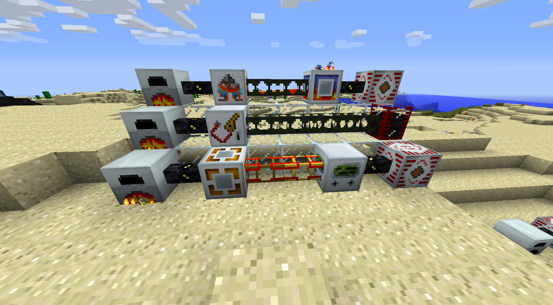 Minecraft    Power Converters Build Craft