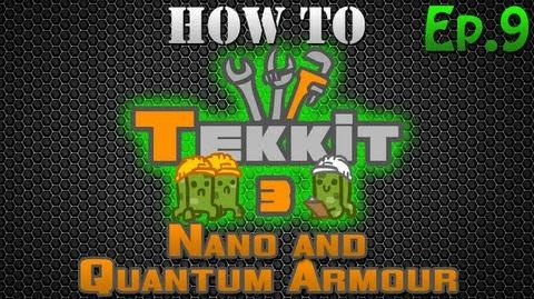 How to Tekkit - Nano and Quantum Armor