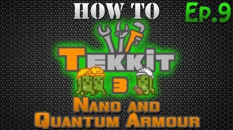 How to Tekkit - Nano and Quantum Armor