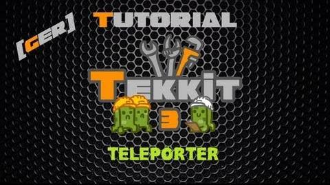 Minecraft Tekkit Classic Tutorial DE HD - Teleporter