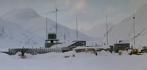 US Outpost 31 Exterior (1) - The Thing (1982)