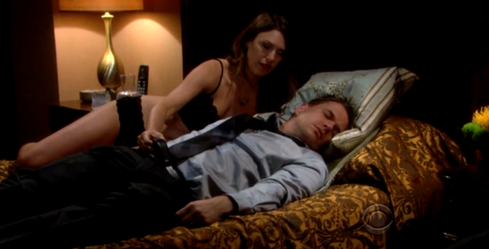 Billy Abbott And Chloe Mitchell The Young And The