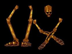 Golden bones set