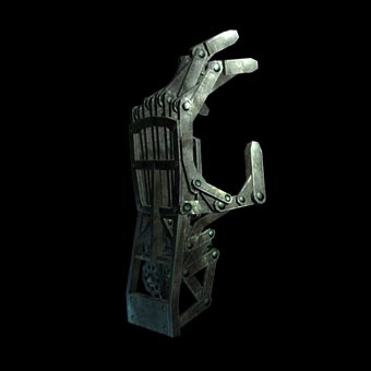 Custom Mechanical Hands RESERVED for J. L. by MechMadnessDesigns