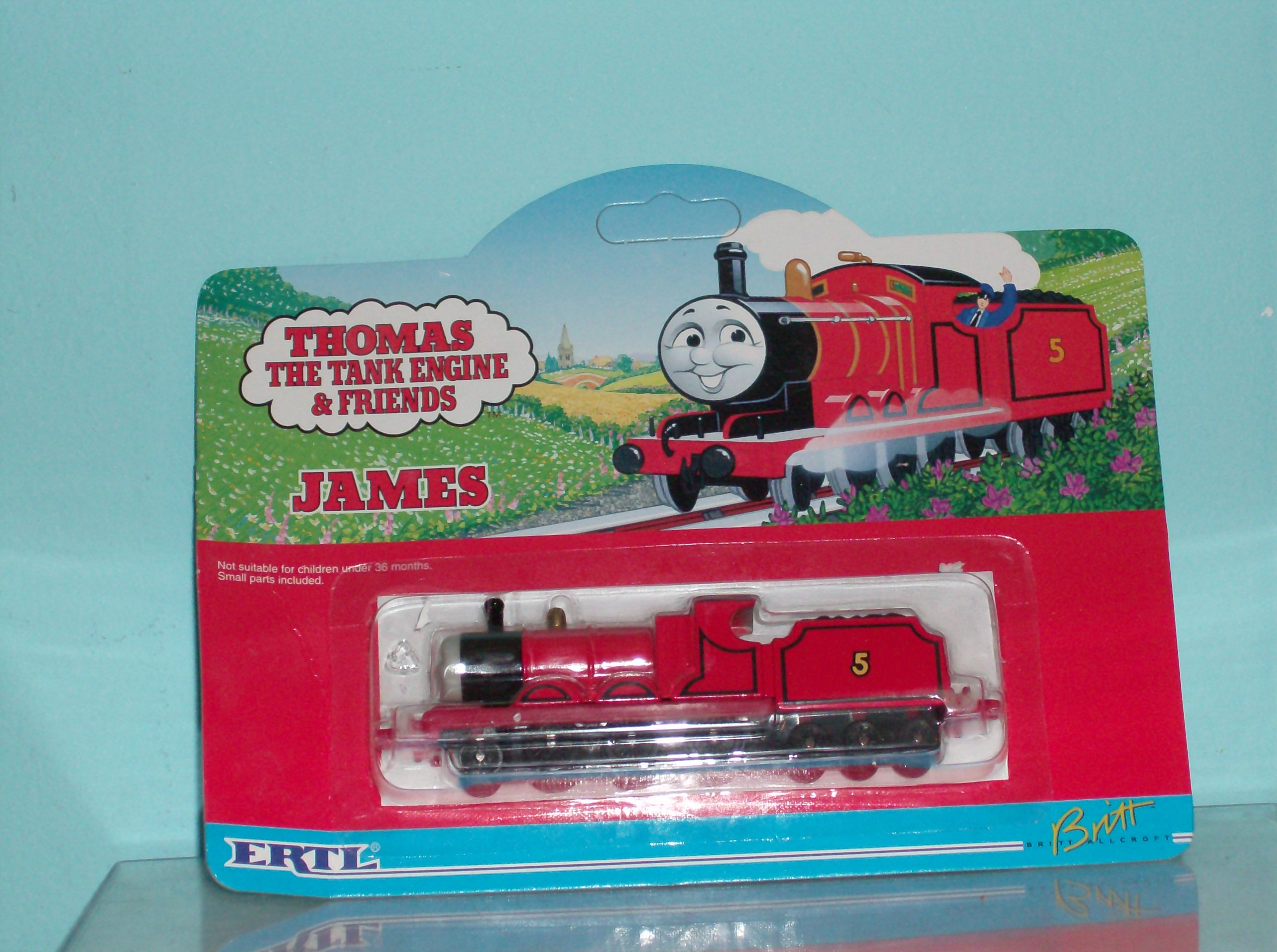Ertl THOMAS Train James Retired NR (Toys-Trains-Thomas) at Plaza ...