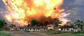 Zero X explodes in Craigsville.