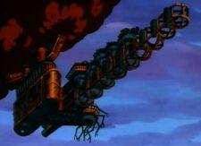 Flying-furnace