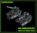 Cobra Artillery