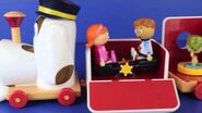 Tickety Toc Train Musical Pufferty Train with Disney Frozen Elsa, Peppa Pig and Sofia The First-1407533315