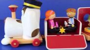 Tickety Toc Train Musical Pufferty Train with Disney Frozen Elsa, Peppa Pig and Sofia The First-0