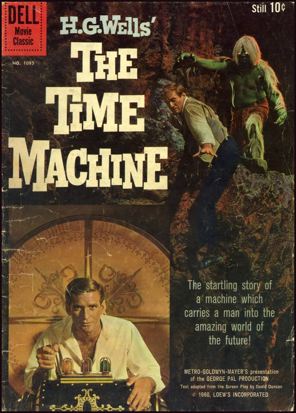 the idea of time travel in the time machine by hg wells Guy pearce in the 2002 film adaptation of hg wells's the time machine photograph: allstar/dreamworks skg  the idea really was invented in 1895, in hg wells's  about time travel forbid.