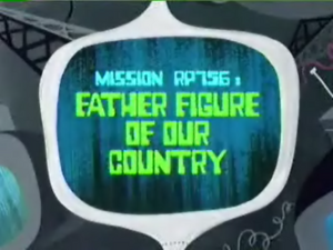 Father Figure of Our Country Titlecard