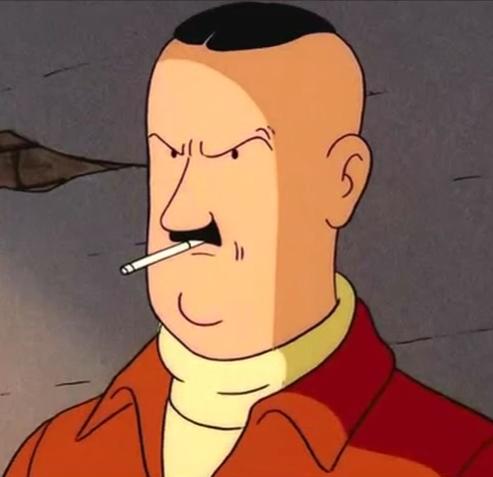 Colonel Boris Jorgen Tintin Wiki Fandom Powered By Wikia