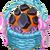 Decoration 1x1 Magma Egg