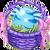 Decoration 1x1 Aquaray Egg