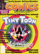 Comics scene magazine