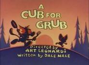 ACubForGrub-TitleCard