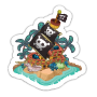 Sticker groundedpirateship@2x