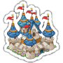 Sticker fairytalecastle@2x