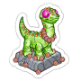 Sticker sunflowerbronto@2x
