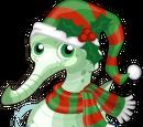 Christmas Seahorse