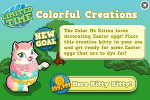 Color me kitten modal