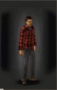 Shirt - Plaid equipped male