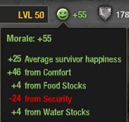 Morale description