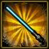 Stars Wor - Blue Plastic Laser Sword