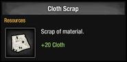 Cloth Scrap