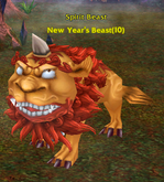 New Year's Beast - Spirit Beast