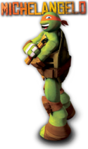 2012 Michelangelo titled character image